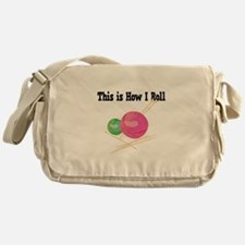 How I Roll (Yarn) Messenger Bag