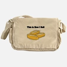 How I Roll (Italian Rolls) Messenger Bag