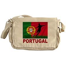 Portugal soccer Messenger Bag