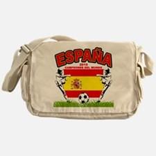 Spain World cup champions Messenger Bag