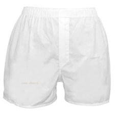 case closed. (words to live b Boxer Shorts