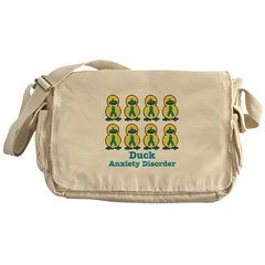 Anxiety Disorder Awareness Ri Messenger Bag