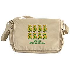 Depression Awareness Ribbon D Messenger Bag
