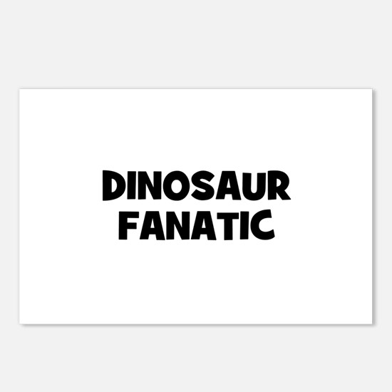 Dinosaur Fanatic Postcards (Package of 8)
