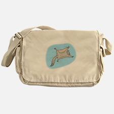 Funny Flying Squirrel Messenger Bag