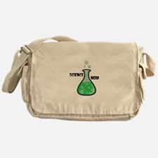 Science Nerd Messenger Bag