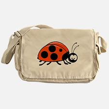 Lady Bug Messenger Bag