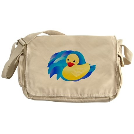 Rubber Ducky Messenger Bag