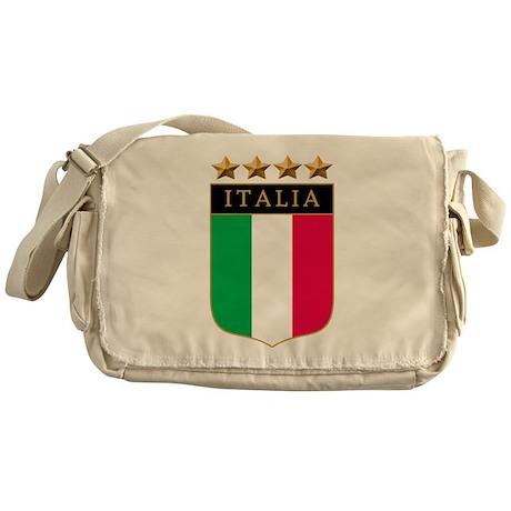 Italian 4 Star flag Messenger Bag