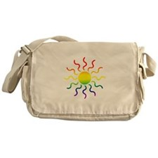 Triabl Sun Messenger Bag