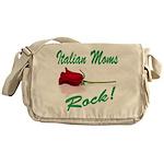 Italian moms Rock Messenger Bag