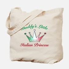 daddy's little Italian Prince Tote Bag