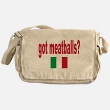 got meatballs Messenger Bag