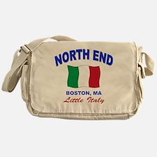 North End Boston,MA Messenger Bag