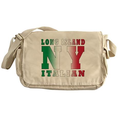 Long Island Italian Messenger Bag
