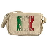 Long Island Italian Messenger Bag