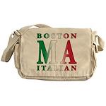 Boston Italian Messenger Bag