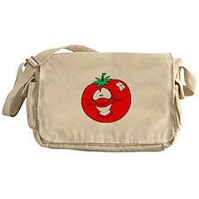 Happy Tomato Face Messenger Bag