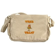 Trick or Treat Candy Corn Messenger Bag