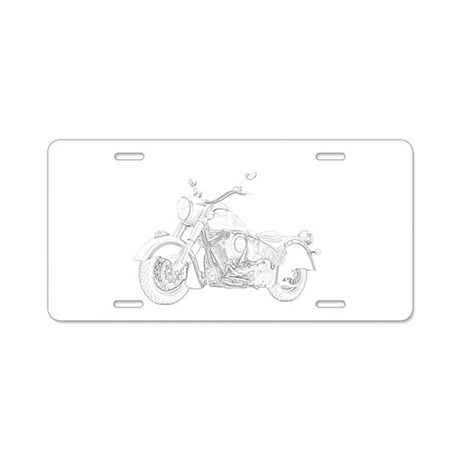 Indian Motorcycle Aluminum License Plate by