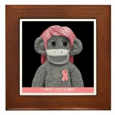 JONES SODA SOCK MONKEY Framed Tile