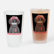 JONES SODA SOCK MONKEY Drinking Glass
