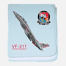 Cool F14 tomcat baby blanket