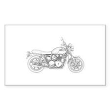 Vintage Triumph Motorcycle Decal