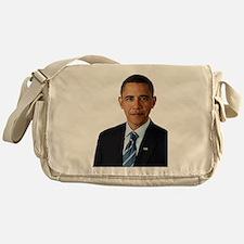 Cute Barack obama Messenger Bag