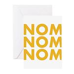 Nom Nom Nom Greeting Cards (Pk of 20)