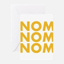 Nom Nom Nom Greeting Card