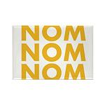 Nom Nom Nom Rectangle Magnet (100 pack)