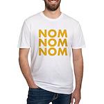 Nom Nom Nom Fitted T-Shirt