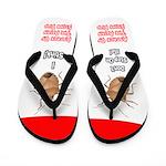 Asian Stink Bug Flip Flops