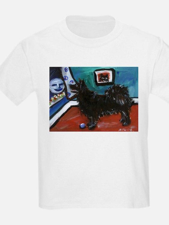 SWEDISH LAPPHUND whimsical do Kids T-Shirt