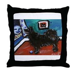 SWEDISH LAPPHUND whimsical do Throw Pillow