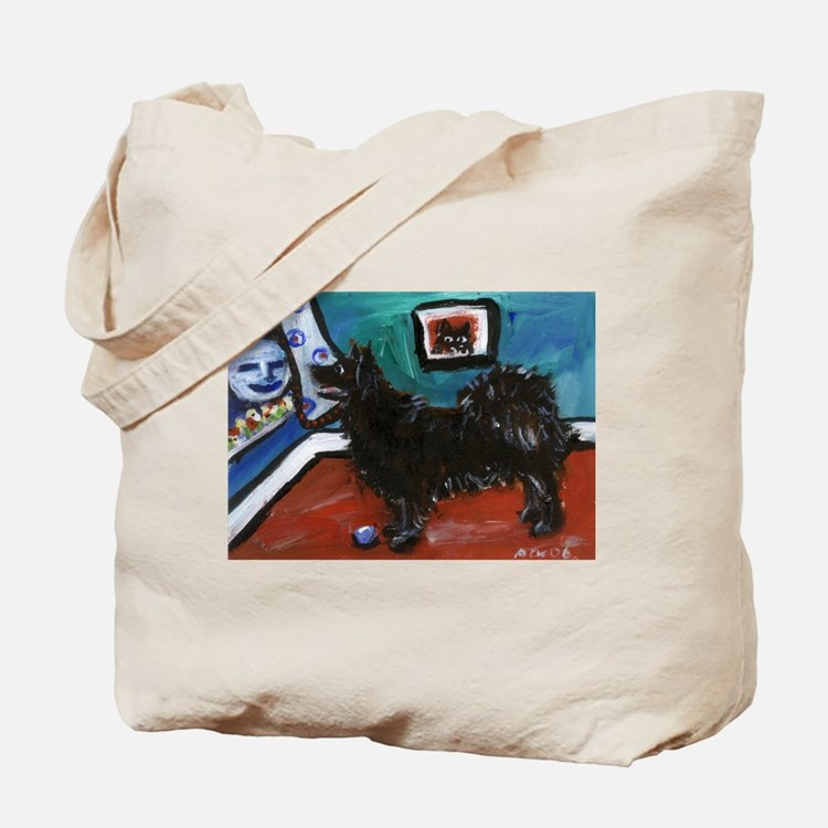 SWEDISH LAPPHUND whimsical do Tote Bag