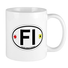 Fenwick Island DE - Oval Design Mug