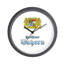 Funny Muenchen Wall Clock
