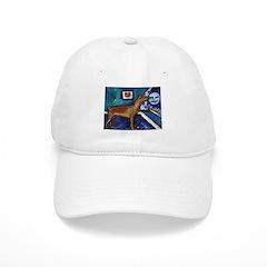 PINSCHER dog art design Baseball Cap