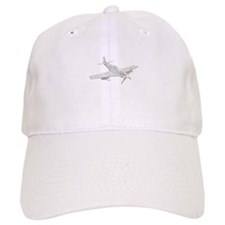 WW2 P-51 Mustang Air Plane Baseball Cap