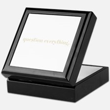 question everything. (Words T Keepsake Box