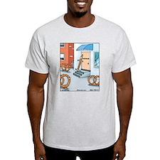 Pretzel Chiropractor Ash Grey T-Shirt