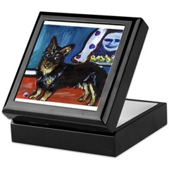Lancaster Heeler whimsical do Keepsake Box