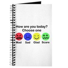 Mad,Sad,Glad & Scare Journal