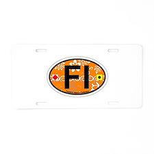 Fenwick Island DE - Oval Design Aluminum License P