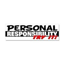 Personal Responsibility Car Magnet 10 x 3