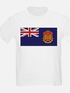Gibraltar Government Ensign Kids T-Shirt