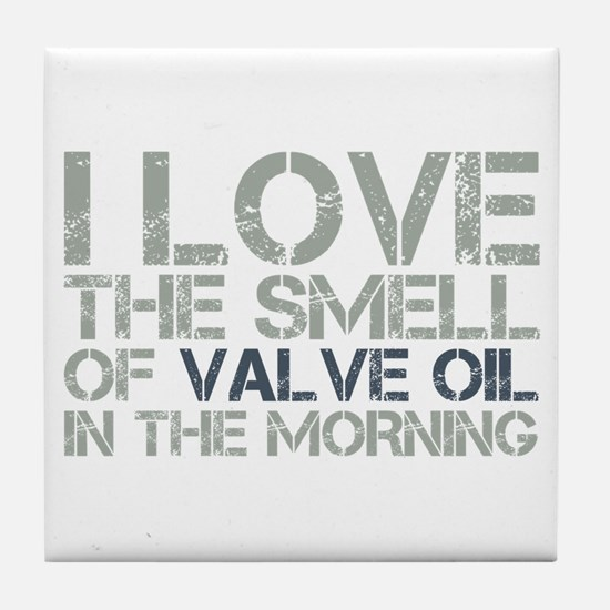 Valve Oil Tile Coaster
