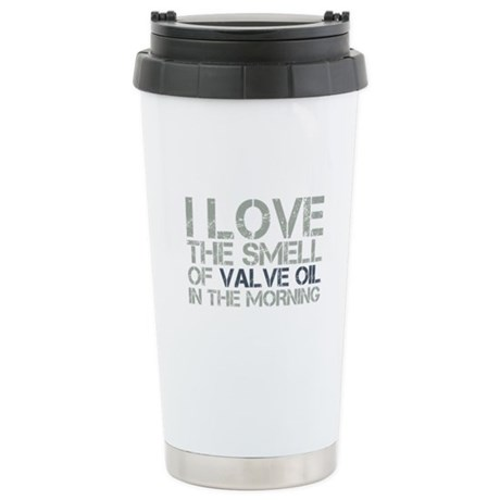 Valve Oil Stainless Steel Travel Mug